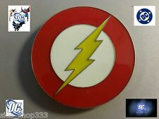 Flash Superhero Belt Buckle as seen on big bang theory TV DC COMICS