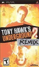 Tony Hawk's Underground 2: Remix (Sony PSP, 2005) BRAND NEW & SEALED FREE SHIP