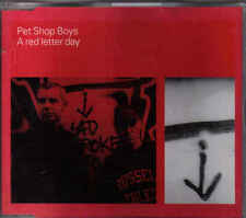 Pet Shop Boys-A Red Letter Day cd maxi single