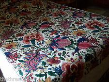 BTY LOVETT Gorgeous Huge Exotic Oriental Motif Design Drapery Fabric Scotchgard
