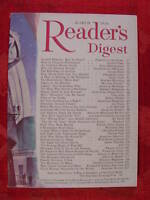 Readers Digest March 1956 James Michener Edwin Muller Uncle Remus Stuart Chase