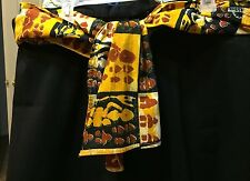 Handmade Sotiba Simpafric Material Animal Print Waist Hip Wrap 33X14 Multi-Color