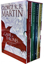 A Game of Thrones Graphic Novel 4 Books Collection Box Set George R.R. Martin HB
