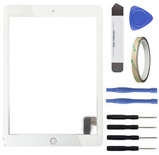 Touchscreen Glas Display Scheibe f Apple iPad 6 Air 2 A1566 A1567 Digitizer weiß