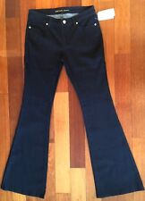 NWT MICHAEL KORS WOMENS SIZE 4 OVERDYED INDIGO JEANS MSRP $135