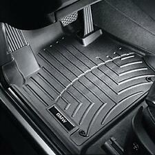 BMW Black All Weather Floor Liners 2007-2013 328i 335i Cpe Sdn FRONT 82112220870