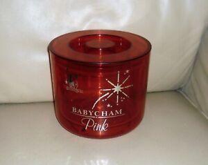 Fab Original Vintage Retro BABYSHAM 'Pink' Ice Bucket. Pub Home Bar Man Cave
