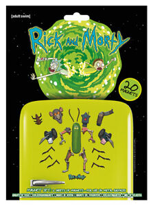 RICK & MORTY MAGNET SET * OFFICIALLY LICENSED PRODUCT *