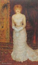 """24"""" PRINT Actress Portrait,1878 by Renoir ANTIQUE MUSEUM ART"""