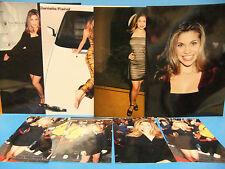 Danielle Fishel 8 Color Photo LOT Boy Meets World 8x10 & 4x6 Promo Photos