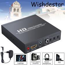 SCART zu HDMI Konverter Adapter RGB CVBS Stereo Audio 720P 1080P für PS2 PS3 PSP