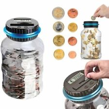 25l Piggy Bank Counter Coin Electronic Digital Lcd Counting Coin Money Saving