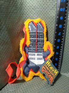 Bark Box Judas Leash Heavy Shredding Guitar Squeaky Crinkle Dog Toy Large