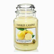 Bougies et chauffe-plats de décoration intérieure citron paraffine