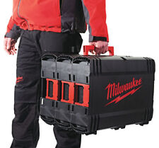 Milwaukee Dynacase Set Of 3 Boxes Empty Carry Case Toolbox