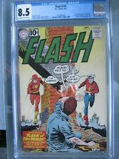 Flash #123 CGC 8.5 DC Comics 1961 1st Golden Age Flash in Silver Age
