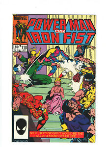 Power Man and Iron Fist #110 FN/VF 7.0 Marvel Comics Copper Age 1984