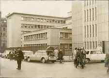 Paris, l'hôpital Cochin Vintage silver print Tirage argentique  13x18