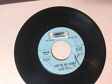 ROCK 45 RPM RECORD - HANK DAVIS - WIZZ 716