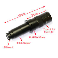Digital Camera 180X Zoom C-Mount Lens Objectives for Industry Microscope