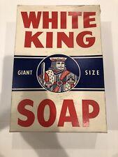 Vintage 1933, White King  Soap, Giant Size Unopened Box