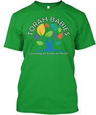 Torah Babies Logo Light Text - Learning To Grow In ! Premium Tee T-Shirt