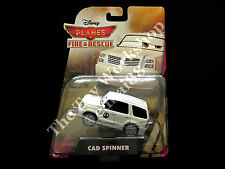 Disney Planes Fire & Rescue Cad Spinner Mattel Die-cast, White SUV Park Chief