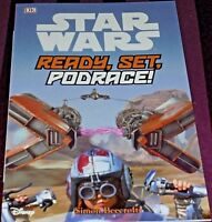 STAR WARS - READY, SET, PODRACE! -32 PAGE BOOK- (BRAND NEW)