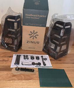 Zinus SmartBase Headboard and Footboard Brackets, Set of 2 14inch NEW OPEN BOX