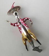 Fliegenpilz Waldmann Geist Glasfigur aus Lauscha Nostalgie Christbaumschmuck