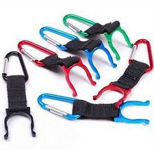 2p Carabiner BOUTEILLE EAU Boucle Crochet porteur Clip pour voyage camping