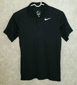 NIKE Dri-Fit LOT OF 2 Short Sleeve Polo Shirts Boy's Sz Medium