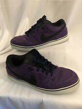 Nike Dunk 6.0 skateboard shoes Purple Black 407609-501 SZ 12