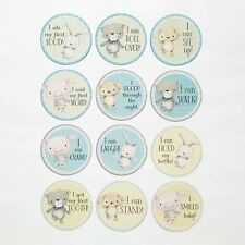 Enesco Stacey Yacula Baby Boy Or Girl Milestone Belly Paper Stickers 4053343