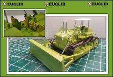"CUSTOM EUCLID Corgi TC-12 Bulldozer in ""EUCLID"" Colors - FREE SHIPPING $$$"