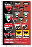 Ducati Corse motorcycle pro quality decals stickers Monster Multistrada Diavel