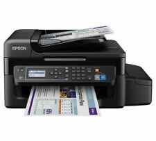 Epson EcoTank ET-4500 WiFi Multifunction Printer Fax with Ink Bottles Included