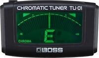 BOSS TU-01 Accordatore & Metronomo Clip-On BOSS TU-01 Accordatore & Metronomo Cl