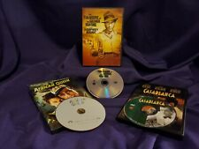 Lot of 3 (Dvd) Casablanca, The African Queen, The Treasure of the Sierra Madre