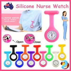 Silicone Nurse Watch Pocket Watch Pin Brooch Tunic Fob Nursing Nurses Pendant