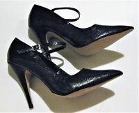 Womex's Wild Pair Black Stiletto Heels SIze 8 1/2 B