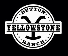Yellowstone Dutton Ranch Decal 4 inch