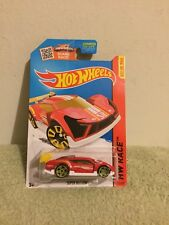 New 2013 Hot Wheels Race Super Blitzen Red And Gold