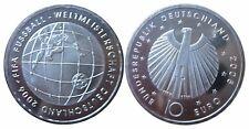 "J511 10 Euro Gedenkmünze 2005 Fifa WM 2006  ""A"""