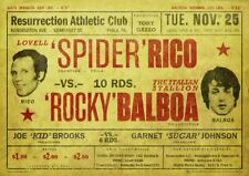 ROCKY Apollo Boxing Movie Fit Retro Metal Aluminium box Gym Pub Bar Vintage SIGN
