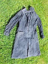 + Ancienne blouse ou veste en toile noire de commerçant ou Maîtresse d'école +