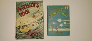 -DR.SUESS MCELLIGOTS POOL/MULBERRY STREET 1ST EDITIONS