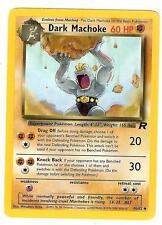 Pokemon Team Rocket Dark Machoke Uncommon 40/82 - NearMint