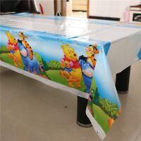 Winnie the Pooh & Friends 108cm*180cm Table Cloth Happy Birthday Party Tigger