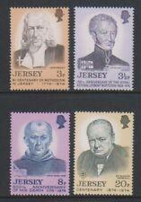 Jersey - 1974, Anniversaires Ensemble - MNH - Sg 111/14